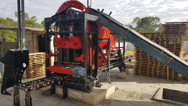 Máquina de bloco - Foto 2