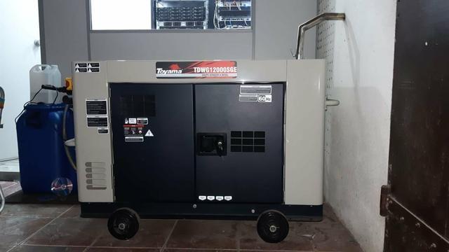 Gerador Automático Toyama TDWG12000SGE ATS