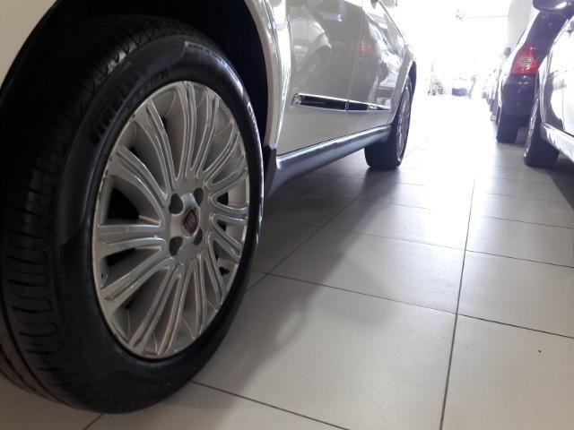 Grand siena essence 1.6 ano 2015 placa i completo roda de liga som usb air bag abs - Foto 16
