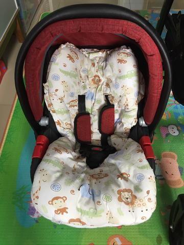 Burigotto Peg Perego Carrinho de bebê + bebê conforto - Foto 5