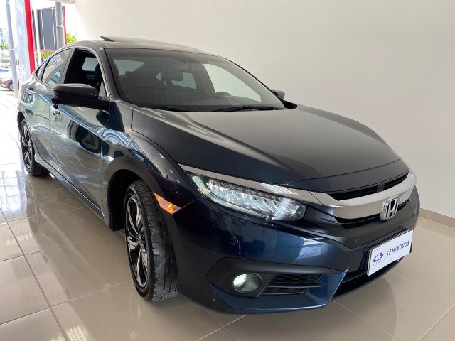 Honda Civic Touring 1.5 Turbo CVT 2019 C/ Teto - Foto 3