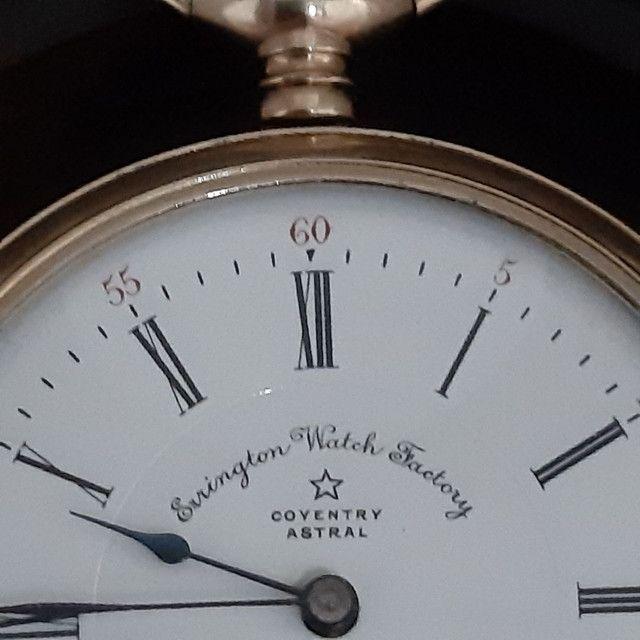 Relógio de Bolso Errington Watch Factory  Modelo Coventry Astral  - Foto 2