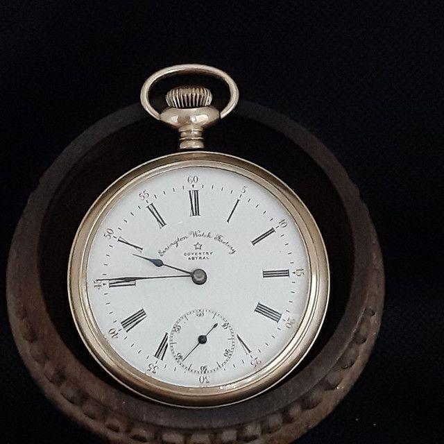 Relógio de Bolso Errington Watch Factory  Modelo Coventry Astral