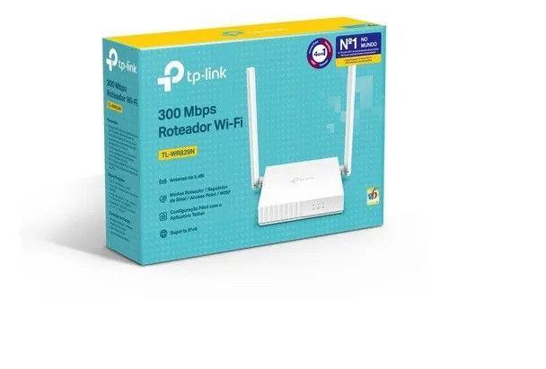Roteador TP Link 2 Antenas 300mbps WR829N Novo Lacrado - Loja Natan Abreu - Foto 5