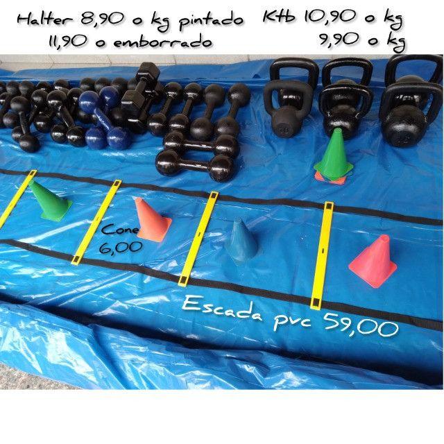 Funcional: Escada, cone, tapete, corda, chapéu, jump, step, etc - Foto 6