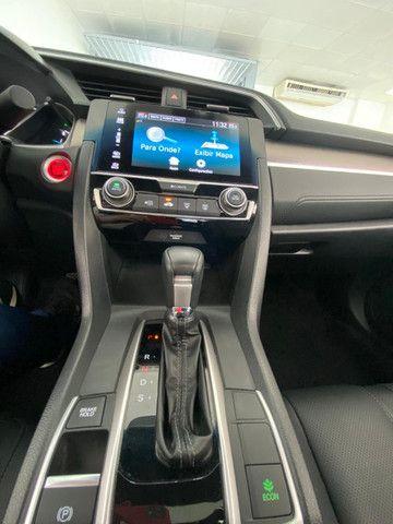 Honda Civic Touring 1.5 Turbo CVT 2019 C/ Teto - Foto 11