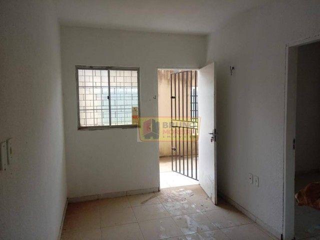 Apartamento com 2 dormitórios para alugar, 55 m² por R$ 390,00/mês - Siqueira - Fortaleza/ - Foto 4