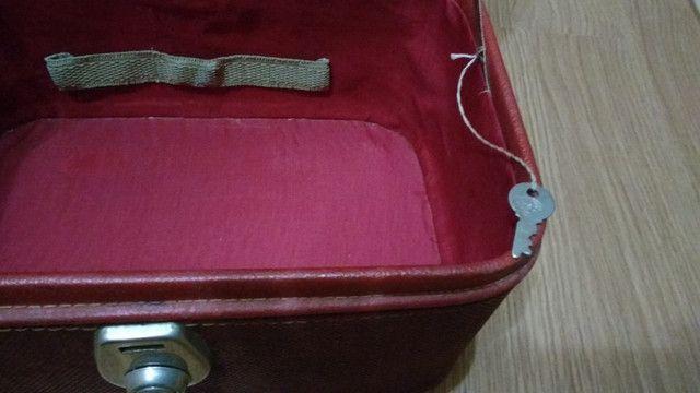 Frasqueira de couro anos 50