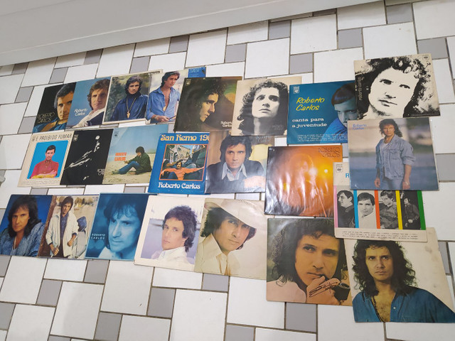 Vendo Coleção de LPs de Roberto Carlos