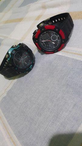 2 relógio masculino novinho sem uso - Foto 3
