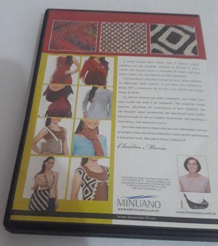 Dvd - Coleção Trico & Croche Com Claudia Maria - Foto 2