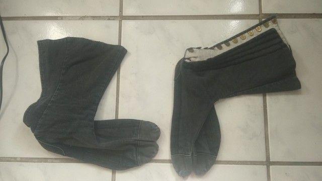 """Calçada """"Ninja shoes"""" da India, bem usado, pe 27 cm - Foto 4"""
