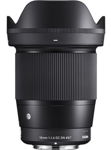Lente Sigma 16mm F/1.4 Dc Dn Contemporary - Sony  - Foto 6