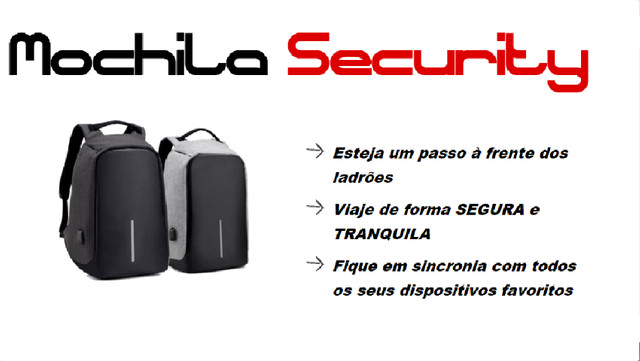 Mochila Security - Foto 2