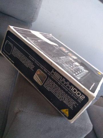 Vendo Console analógica Behringer Xenyx 1002 - Foto 6
