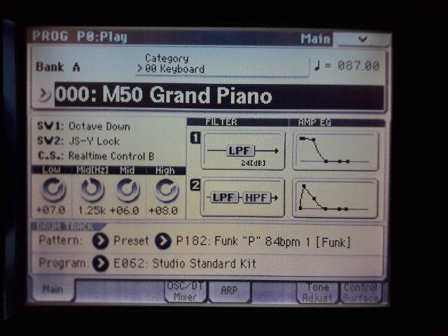 M50 Korg parcelo no cartão/ML avalio troca por teclado arranjador c/ritmos - Foto 4