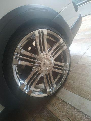 Vendo roda cromada 20 - Foto 2