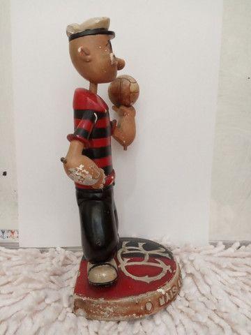 Flamengo - Mascote raríssima!!! anos 40/50 Estatueta antiga. - Foto 6