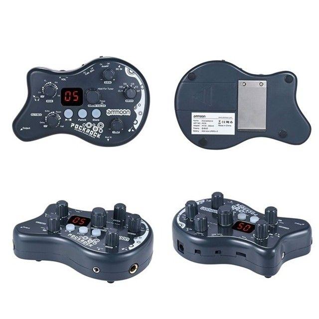 Pedal Ammoon Pockrock Processador Multi Efeitos - Foto 4