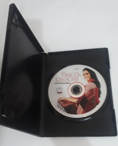 Dvd - Coleção Trico & Croche Com Claudia Maria - Foto 3