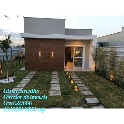 Atençao sou America Houses Casa de 2/4,com 2 suite, aceito FGTS, subs 21mil, Entrada 18X