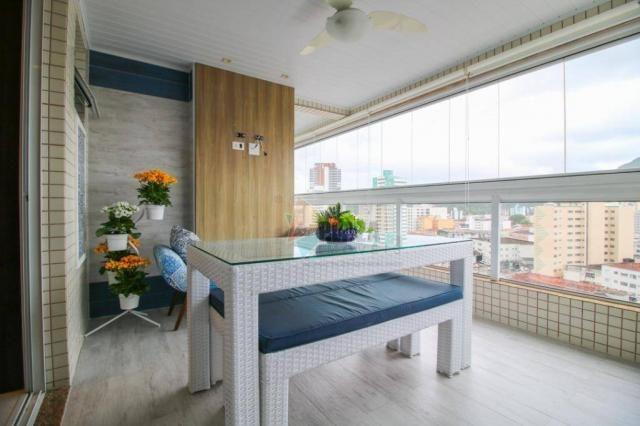 Apartamento com 2 dormitórios à venda, 104 m² por R$ 650.000,00 - Boqueirão - Praia Grande - Foto 3