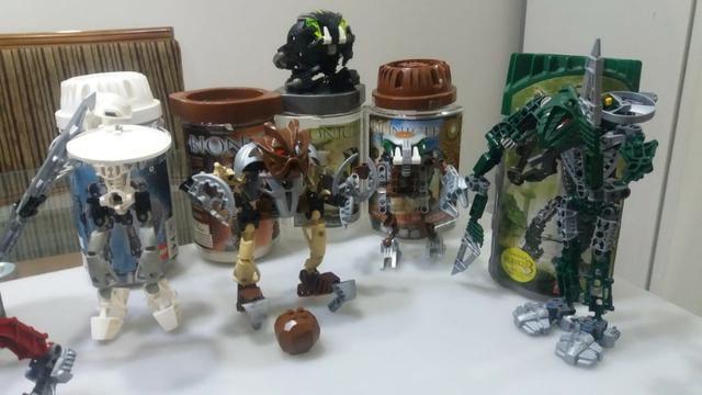Legos Robôs Bionicle - Preço por unidade