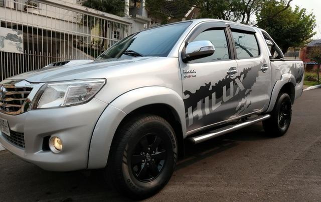 Barbada- Hilux ano 2013 em Ótimo Estado - 3.2 Diesel - Financio 100% e Aceito Trocas - Foto 10