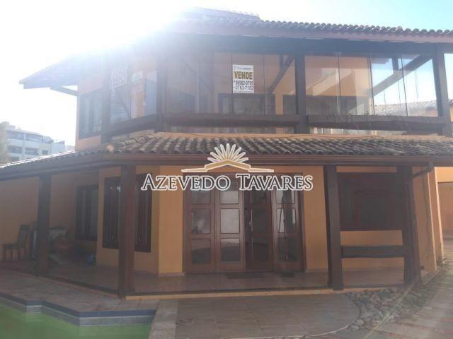 Casa para alugar com 4 dormitórios em Praia do pecado, Macaé cod: *15