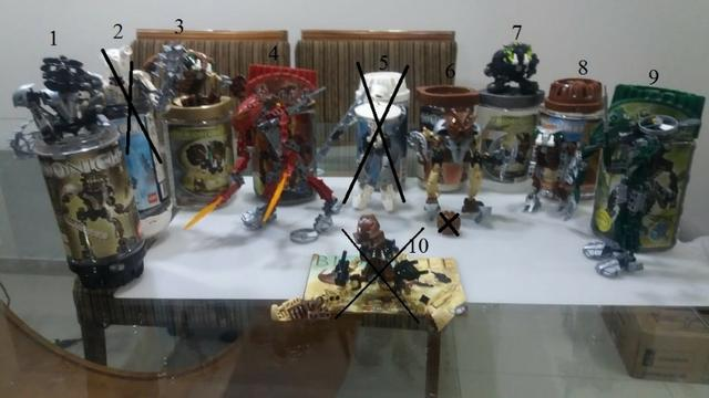 Legos Robôs Bionicle - Preço por unidade - Foto 3