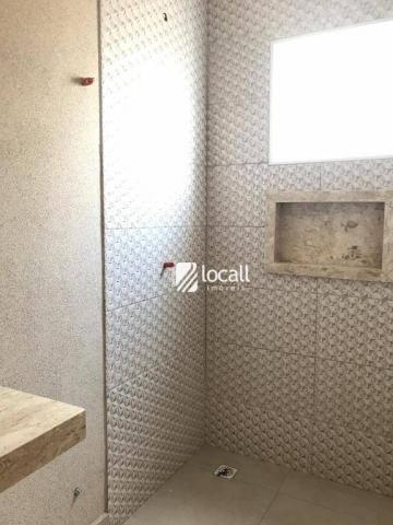 Casa com 2 dormitórios para alugar, 130 m² por r$ 1.000/mês - bady bassitt - bady bassitt/ - Foto 2