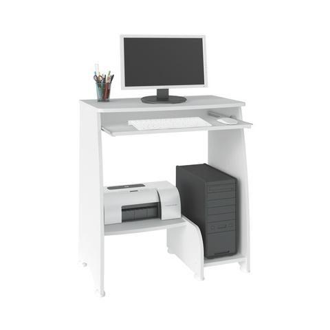 Mesa para computador na cor branca pixel - Foto 2