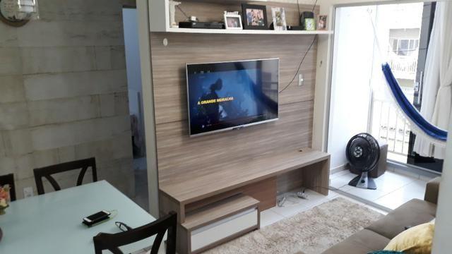 FH - Alugo Apartamento no Condomínio Praias Belas Estrada de Ribamar 2 Banheiros - Foto 2