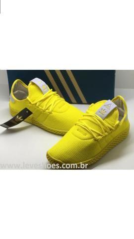 Tênis adidas Pharrell Wlliams Hu Masculino Feminino 189 - Foto 5