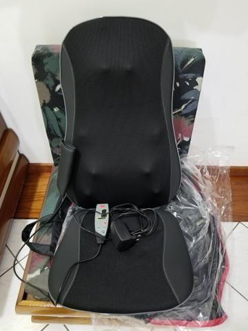 Assento Shiatsu 3D Massageador Semi Novo - Foto 2
