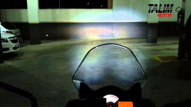 Farol Milha alto baixo sinalizador moto trilha e quadriciclo - Foto 2
