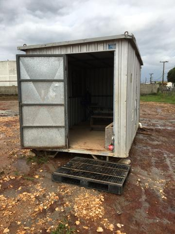 Container e banheiro móvel para sua obra - Foto 3