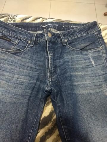 Calça Jeans Calvin Klein Original 44 - Foto 2