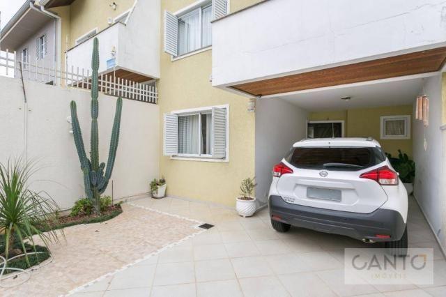 Sobrado com 3 dormitórios à venda no pilarzinho/bom retiro, 135 m² por r$ 530 mil - Foto 4