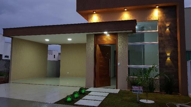 Oportunidade - Casa nova em Condomínio c/ saldo devedor do terreno