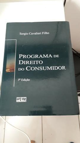 Livro Programa de Direito do Consumidor - Autor Sergio Cavalieiri Filho