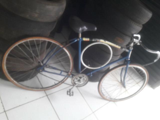Vendo bicicleta barra circular