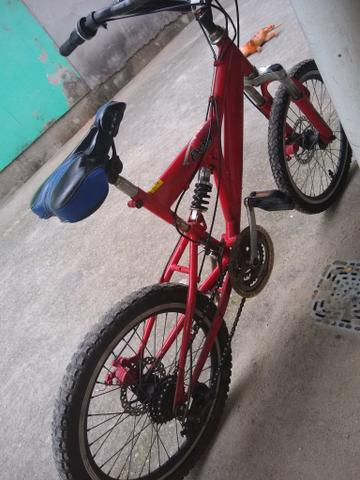 Vendo ou troco essa bicicleta por outra! - Foto 4