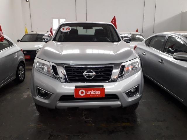 Nissan Frontier Se 2.3 4x4 A/t IPVA 2020 Gratis - Foto 2