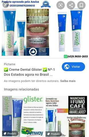 Creme dental Glister - Foto 5
