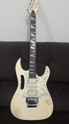 Só hj guitarra Strinbeg + cubo meteoro 30w - Foto 2
