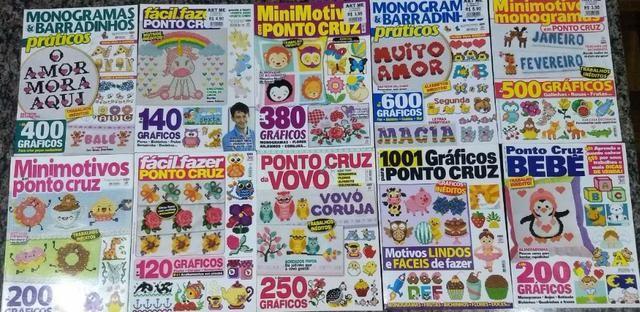 Revista Ponto Cruz - Nova - Kit 20 Revistas - Foto 2