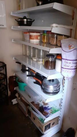 Prateleiras de ferro para supermercado - Foto 2