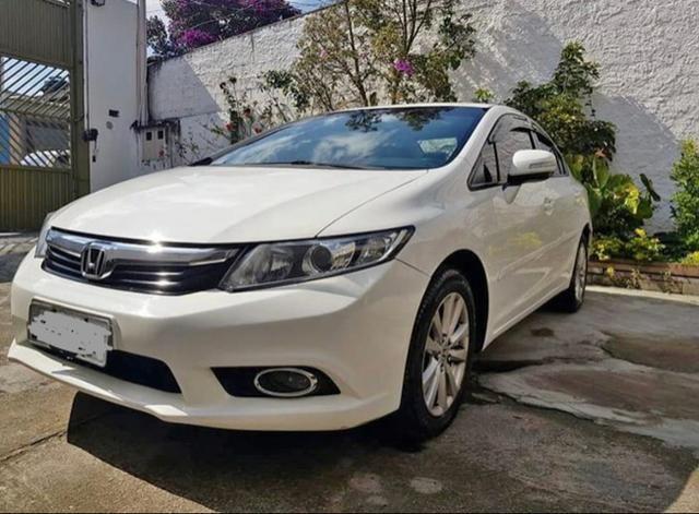 Honda Civic 1.8 2012, Completo! Não troco