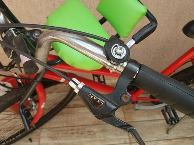 Bike com cadeirinha